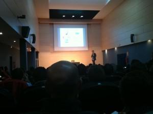 Cesar Mariel en su presentación en Foxize Alicante